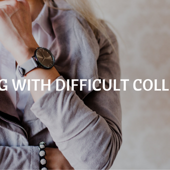 how to deal with difficult colleagues