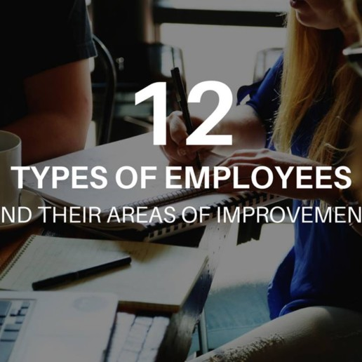 12 Types of Employees And Their Areas of Improvement