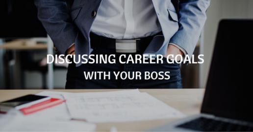 discussing career goals