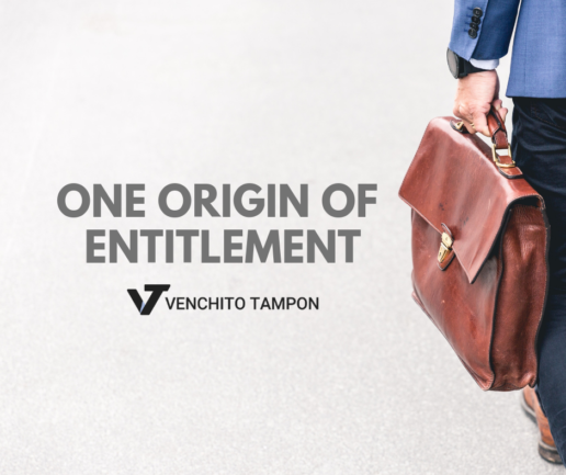 one origin of entitlement